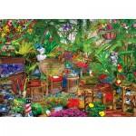Puzzle  Master-Pieces-72004 Garden Hideway