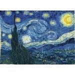 Puzzle  Master-Pieces-72012 Vincent Van Gogh - Nuit Etoilée sur le Rhône