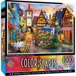 Puzzle  Master-Pieces-72120 Bavarian Flower Market
