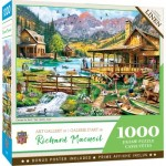 Puzzle  Master-Pieces-72164 Canoes for Rent