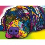Puzzle   Pièces XXL - Dean Russo - My Dog Blue