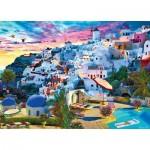 Puzzle   Santorini Sky