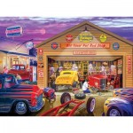 Puzzle   Old Timer's Hot Rods