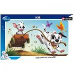 Puzzle  Nathan-86005 Disney - Les 101 Dalmatiens : La course folle