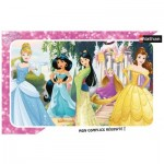 Puzzle Cadre - Princesses Disney