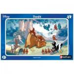 Puzzle  Nathan-86025 Disney : Bambi, regard tendre