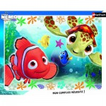Nathan-86106 Puzzle cadre - Nemo et Squiz