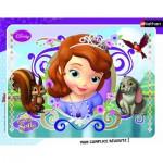 Nathan-86135 Puzzle Cadre - Princesse Sofia