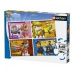 Nathan-86206 4 Puzzles - Pat Patrouille
