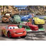 Puzzle  Nathan-86310 Cars : Les amis de Flash McQueen