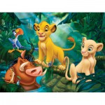 Puzzle  Nathan-86313 Le Roi Lion : Simba & Co.