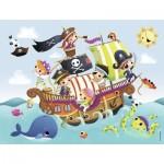 Puzzle  Nathan-86349 Les Petits Pirates
