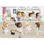 Puzzle  Nathan-86466 Petites Ballerines