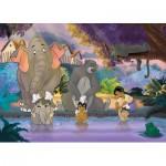 Puzzle  Nathan-86492 Le Livre de la Jungle : Le Bain