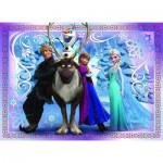 Puzzle  Nathan-86522 La Reine des Neiges : Une Equipe Formidable