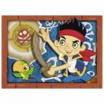 Puzzle  Nathan-86525 Jake et les Pirates du pays imaginaire : A l'Attaque