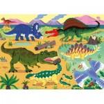 Puzzle  Nathan-86571 Pièces XXL - Dinosaures