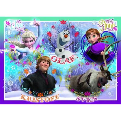 Puzzle Nathan-86635 La Reine des Neiges : Bienvenue Royaume Arendelle