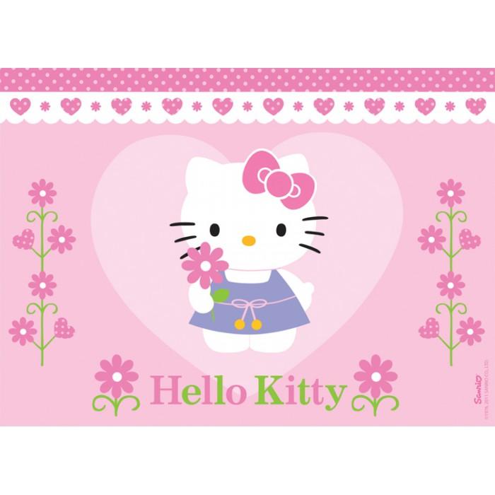 Une fleur pour Hello Kitty
