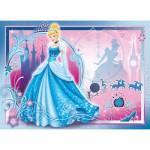 Puzzle  Nathan-86709 Cendrillon : Une Vie de Princesse