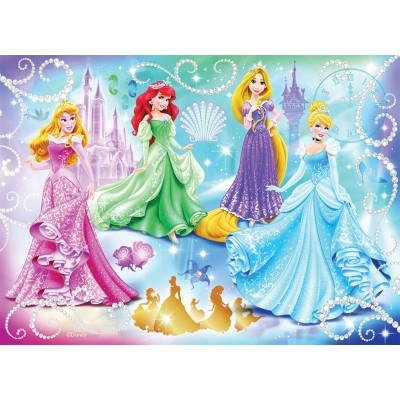 Puzzle Nathan-86720 Disney Princess : Princesses étincelantes