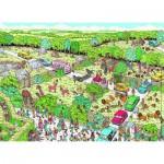 Puzzle  Nathan-86725 Où est Charlie : Parc Safari