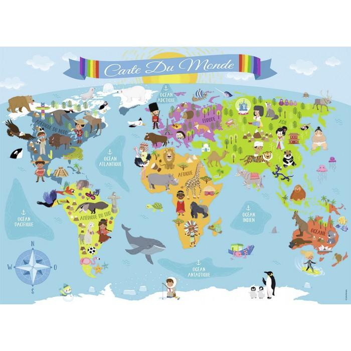 Pièces XXL - Carte du Monde