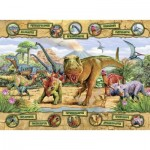 Puzzle  Nathan-86836 Dinosaures