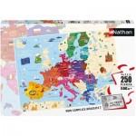 Puzzle  Nathan-86879 Carte de l'Europe