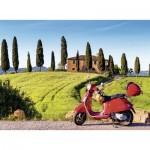 Puzzle  Nathan-87220 Voyage en Toscane