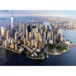 Puzzle  Nathan-87221 Manhattan vue du ciel