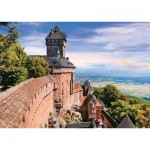 Puzzle  Nathan-87249 Château du Haut-Koenigsbourg - Alsace