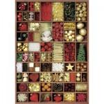 Puzzle  Nathan-87566 Aux Couleurs de Noël