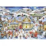 Puzzle  Nathan-87567 La Féérie de Noël
