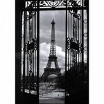 Puzzle  Nathan-87570 Tour Eiffel nostalgique