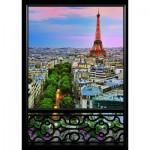 Puzzle  Nathan-87571 Vue Sur Paris
