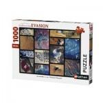 Puzzle  Nathan-87573 Le Monde vu par Thomas Pesquet