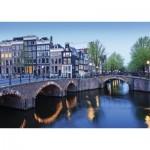 Puzzle  Nathan-87579 Amsterdam au Fil de l'Eau