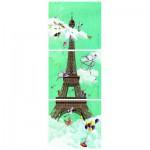 Puzzle  Nathan-87612 Marie-Anne Foucart : Tour Eiffel