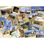 Puzzle  Nathan-87623 Monuments du Monde