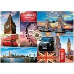 Puzzle  Nathan-87632 Visite de Londres