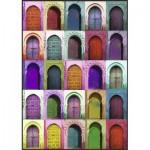Puzzle  Nathan-87783 Portes Colorées