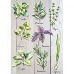 Puzzle  Nathan-87786 Plantes Aromatiques