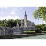 Puzzle  Nathan-87787 Sanctuaire de Lourdes
