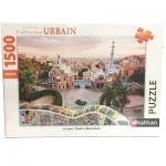 Puzzle  Nathan-87789 Parc Güell à Barcelone