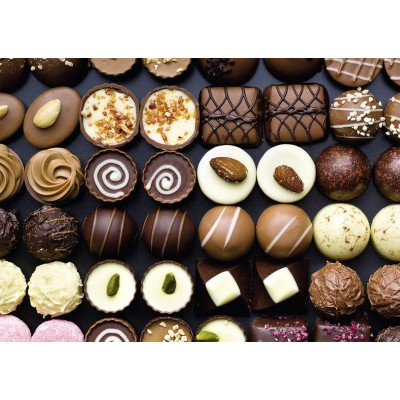 Puzzle Nathan-87796 Gourmandises Chocolatées