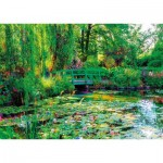 Puzzle  Nathan-87800 Les Jardins de Claude Monet, Giverny