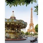 Puzzle  Nathan-87881 Le Carrousel du Trocadéro