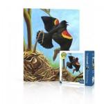 Puzzle   Red-Winged Blackbird Mini