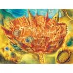 Puzzle  New-York-Puzzle-HP1360 Pièces XXL - Harry Potter - Poudlard